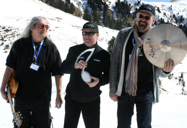 il Trio Bestetti riceve la nota di ghiaccio RespirArt Pampeago
