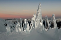 ICE SKYLINE DOLOMITI by Marco Nones - photo Eigenio Del Pero