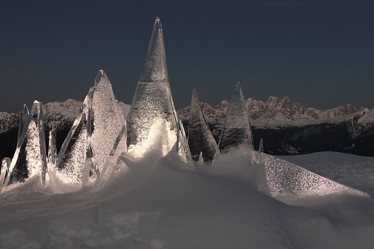 ice skyline by marco nones - photo Eugenio Del Pero
