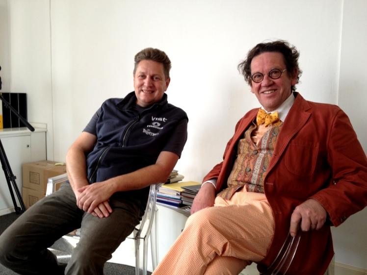 Marco Nones e Philippe Daverio a Milano c