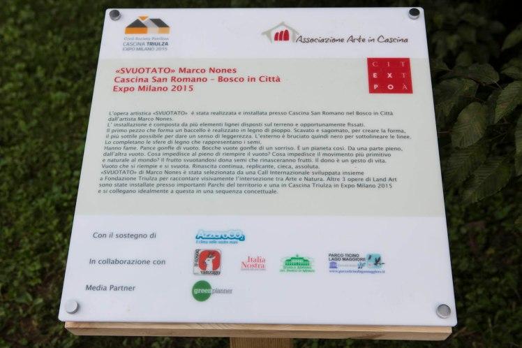 Inaugurazione Nones Bosco in Città Milano 2015
