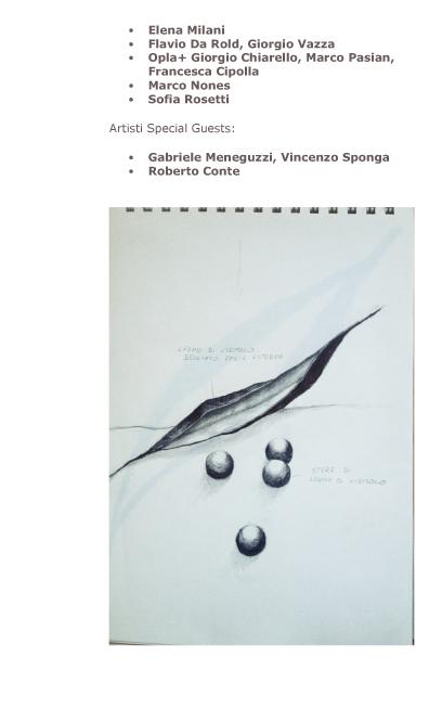 Disegni di Land Art alla Galleria Carte scoperte di Milano-2