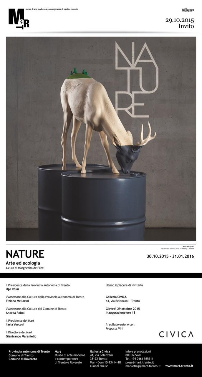 Marco Nones è presente a NATURE Mart Galleria Civica Trento