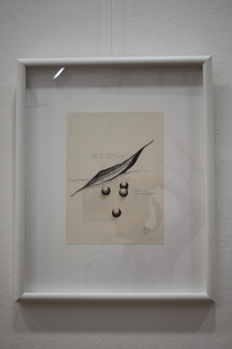 Schizzo Svuotato premio Expo 2015 land art Galleria Carte Scoperte MARCO NONES
