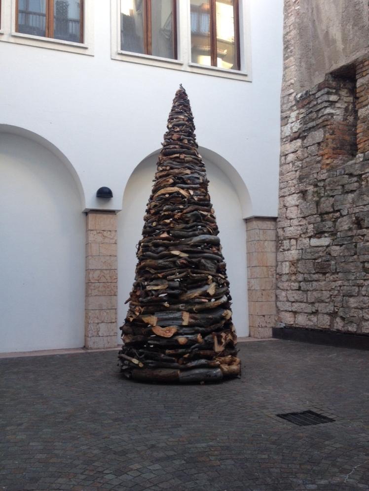 Radicati liberi installazione Marco Nones Nature Civica Mart Trento