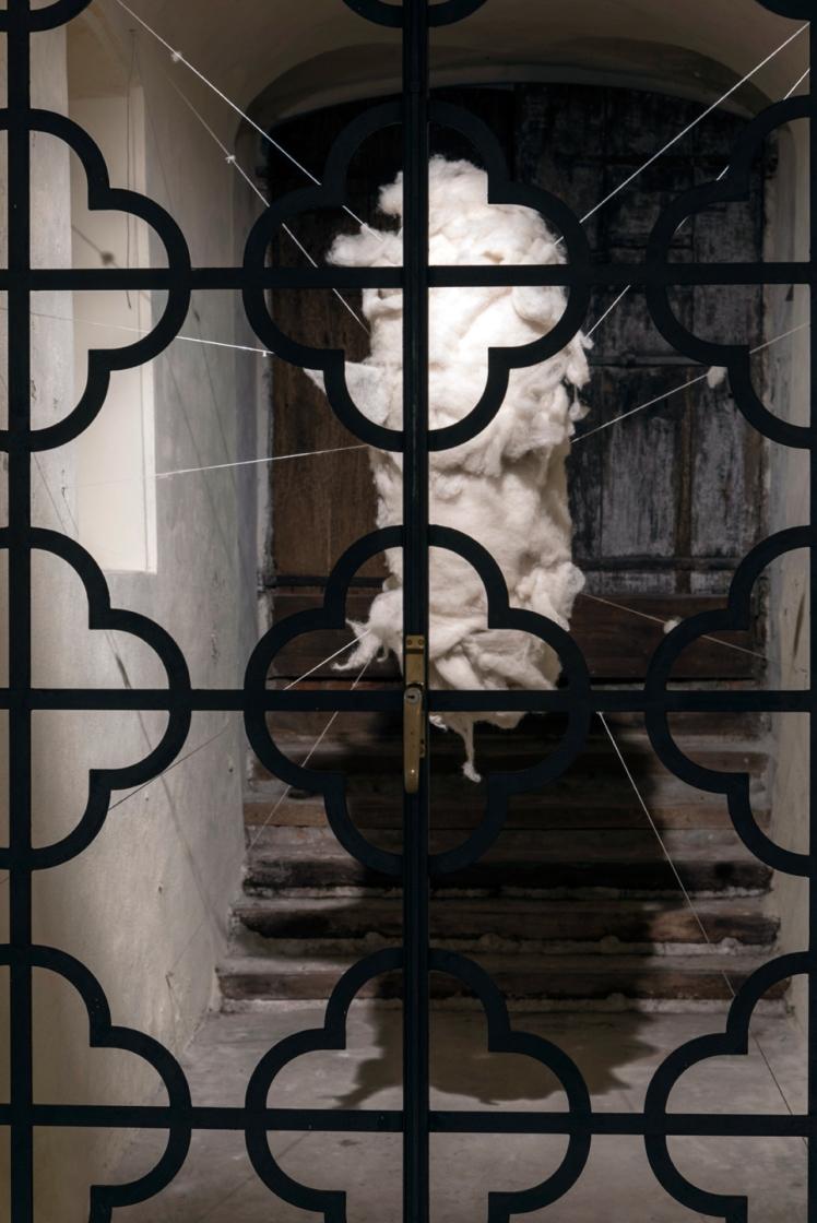 Marco Nones COCOON mostra Galleria Casa Dugnani 11 Foto Raul Zini