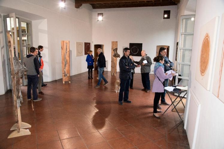 Marco Nones mostra Galleria Casa Dugnani 40 Foto Raul Zini